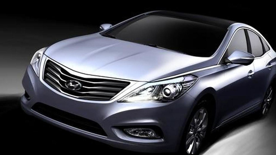 Hyundai Azera / Grandeur revealed - first images