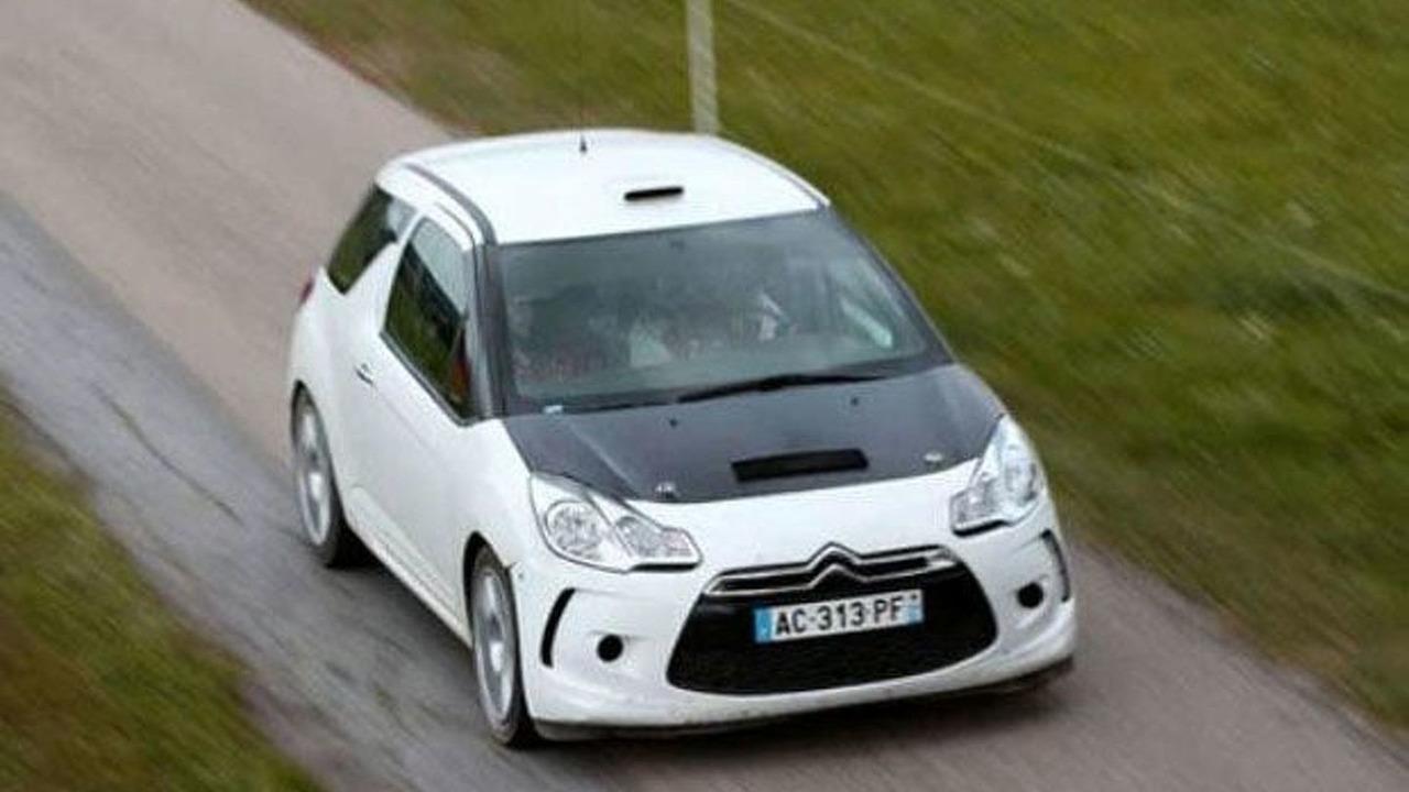 Citroen DS3 Rally Car