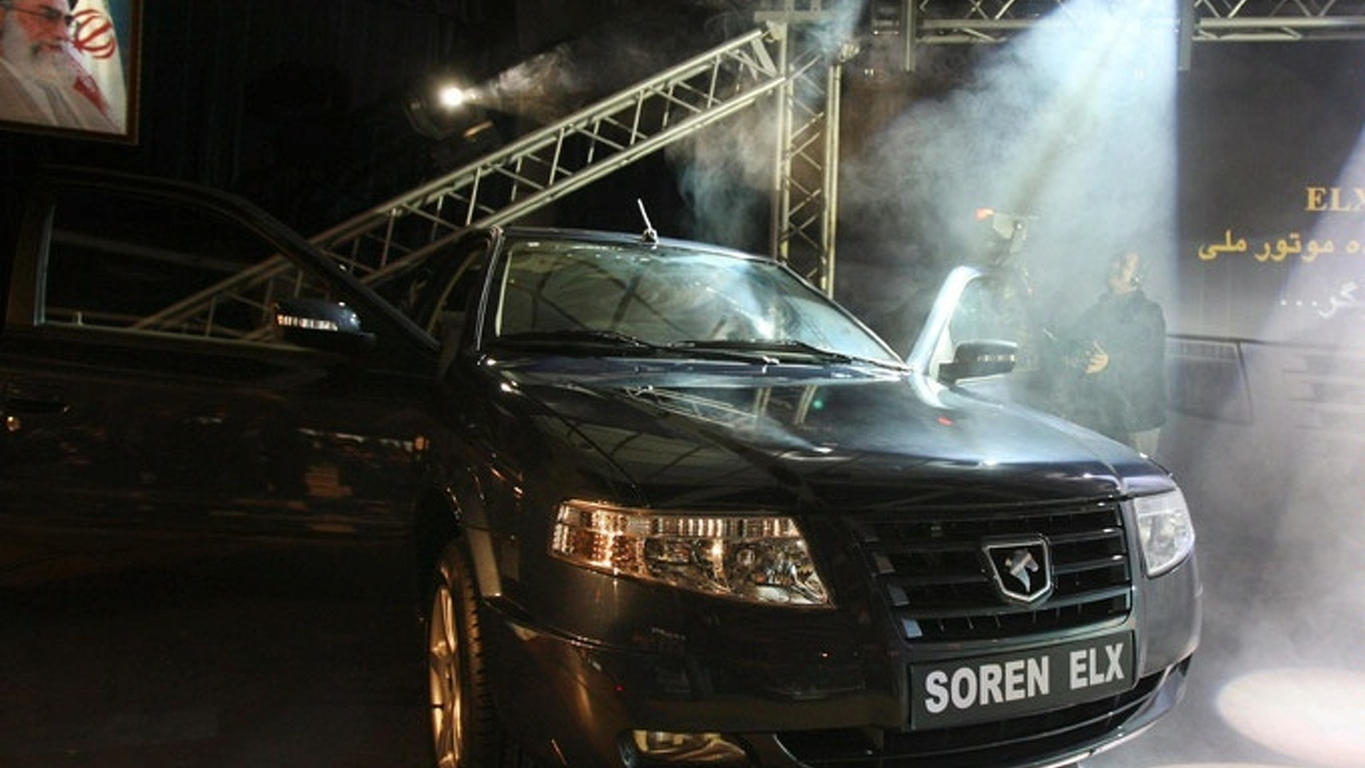 New Most Powerful Natural Gas Engine and Car From Iran