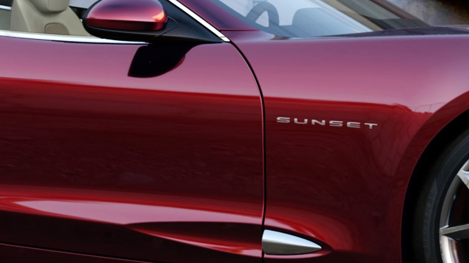 Fisker Karma S 'Sunset' Convertible Concept Teaser for Detroit Premiere