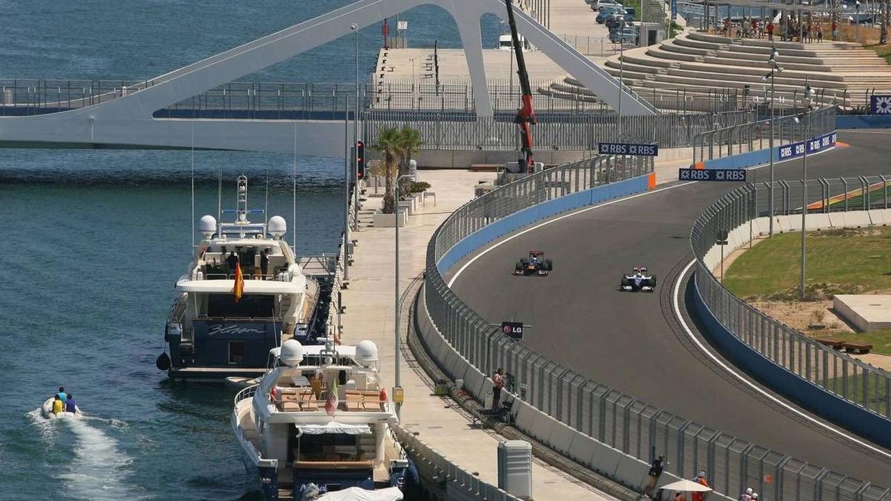 Nico Rosberg, European Grand Prix, Valencia, Spain 21.08.2009