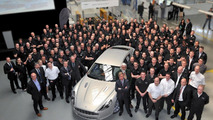 First Aston Martin Rapides bound for customers