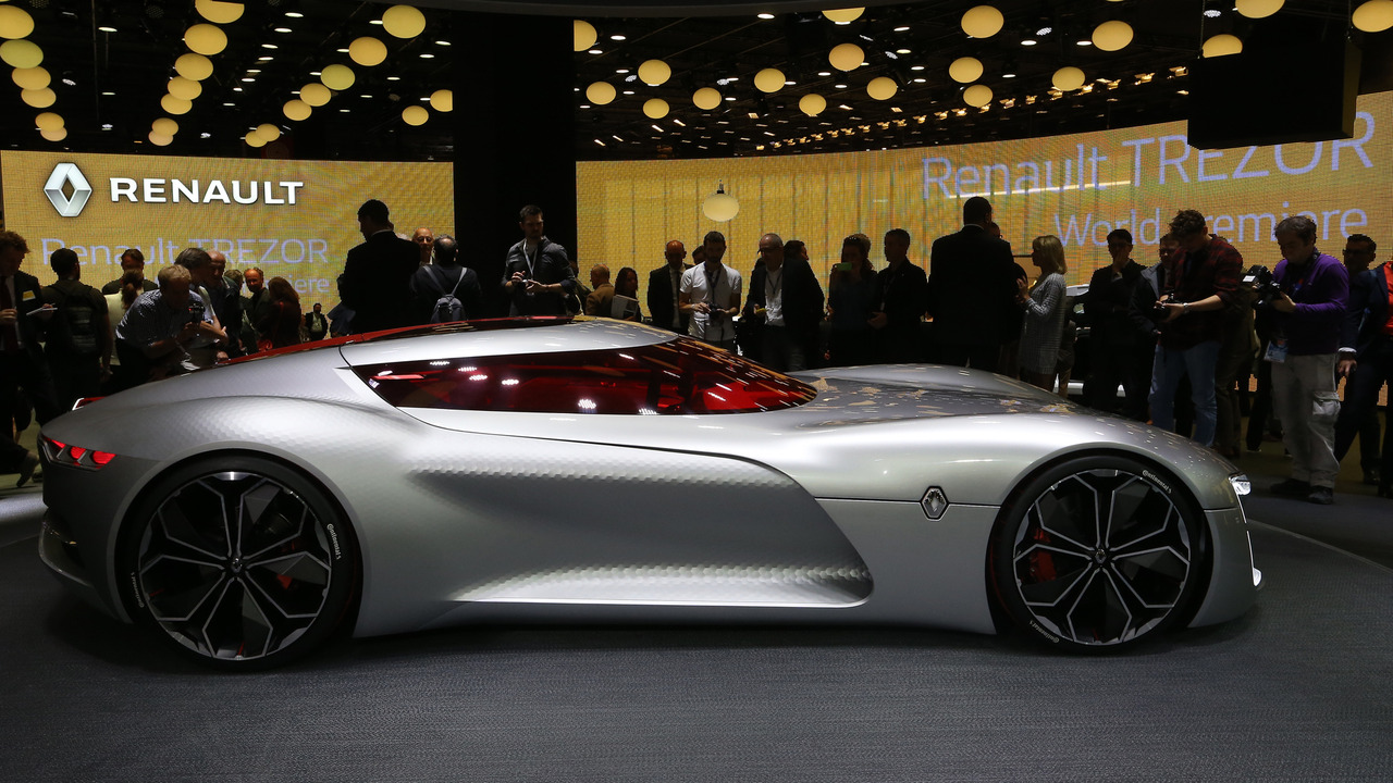 Renault trezor concept is the shape of things to come - Paris motor show ...