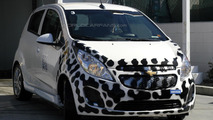 2013/2014 Chevrolet Spark EV prototype spy photo