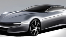 Pininfarina Cambiano Concept sketches 06.03.2012