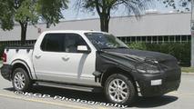 Ford Explorer Sport Trac Facelift Spy Photos