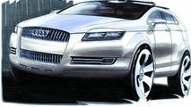 Audi Pikes Peak quattro concept car design sketch 06.01.2003
