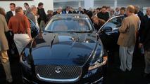2010 Jaguar XJ North American debut at Pebble Beach 2009