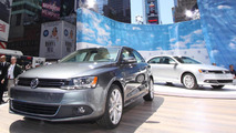 2011 Volkswagen Jetta make public debut in Time Square, New York