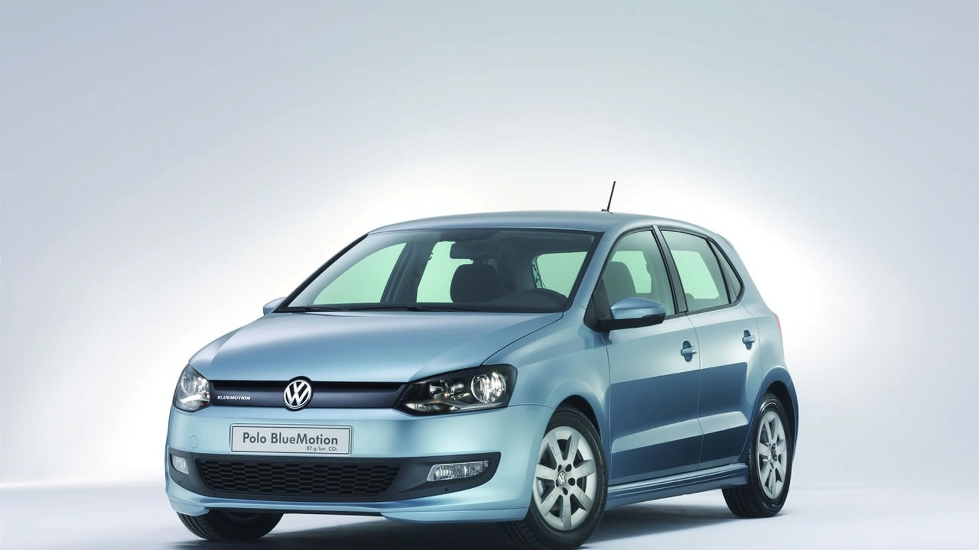 Geneva 2009: Volkswagen Polo BlueMotion Concept Car