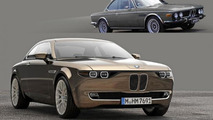 BMW CS Vintage Concept is a modern successor to BMW E9 [video]