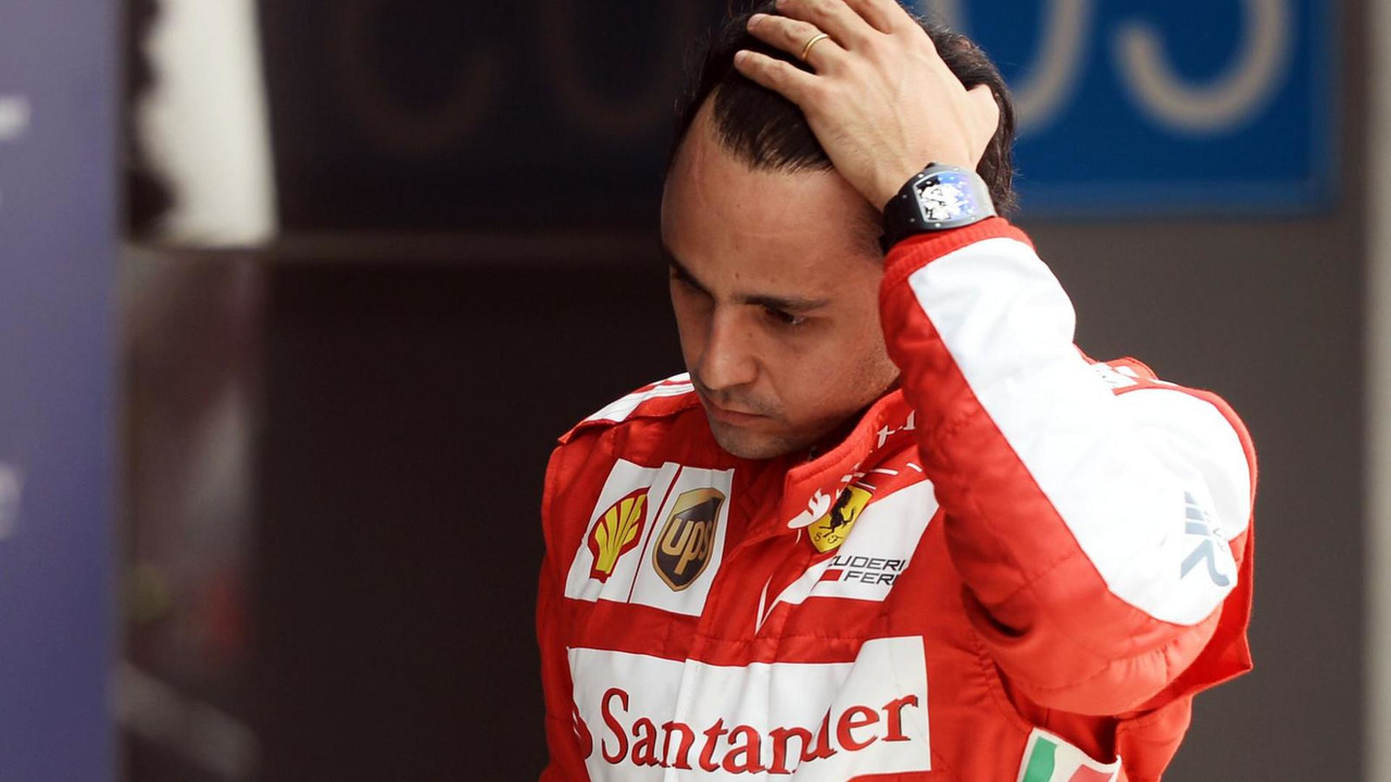 Felipe Massa in parc ferme 26.10.2013 Indian Grand Prix