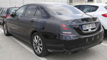 Mercedes-Benz C-Class Plug-In Hybrid spy photo