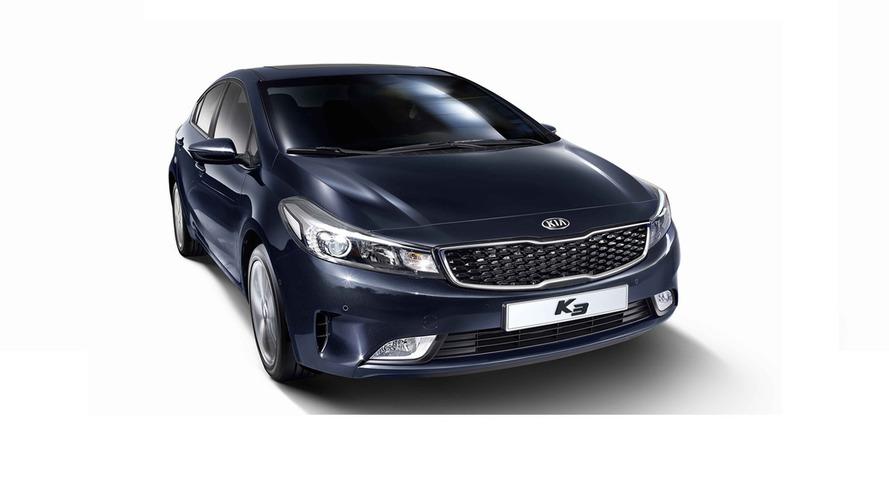 Kia Forte Sedan / K3 / Cerato facelift officially revealed in South Korea
