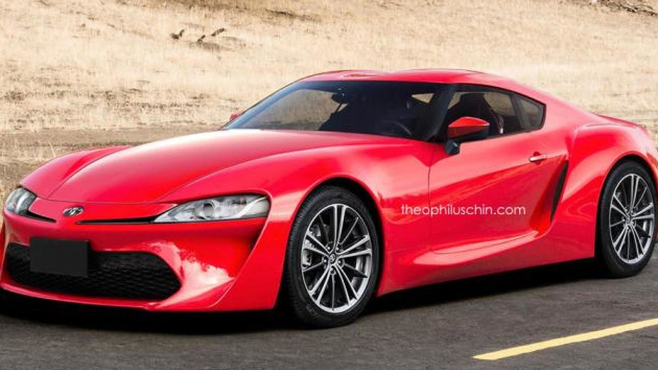 Next generation Toyota Supra render