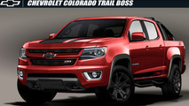 Chevrolet Colorado Z71 Trail Boss 3.0 concept