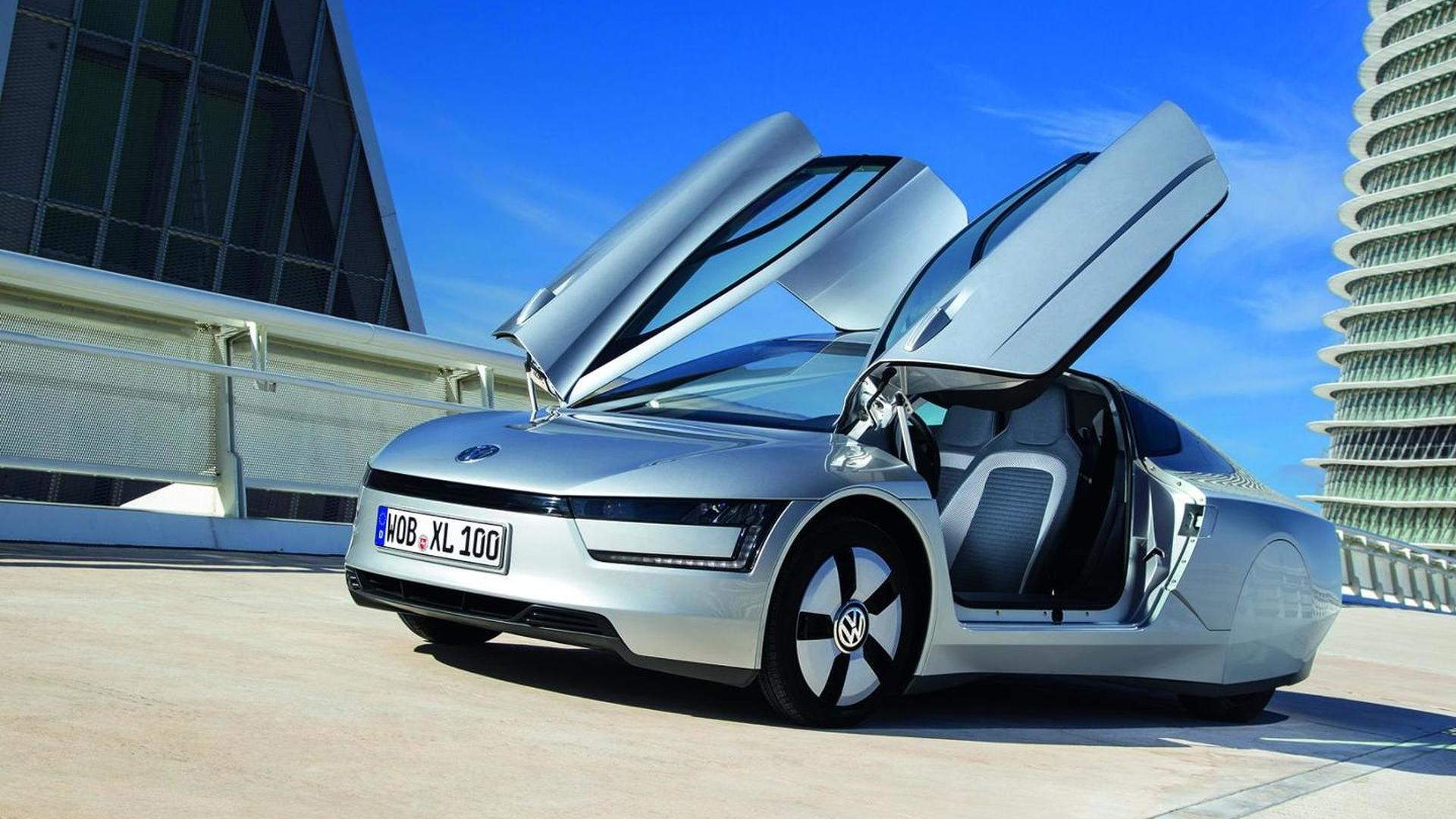 Volkswagen confirms XL1 technical details