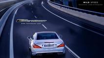 2013 Mercedes SL63 AMG (R231) artists rendering