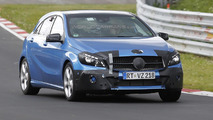 2016 Mercedes-Benz A-Class facelift hides subtle cosmetic tweaks in latest spy photos