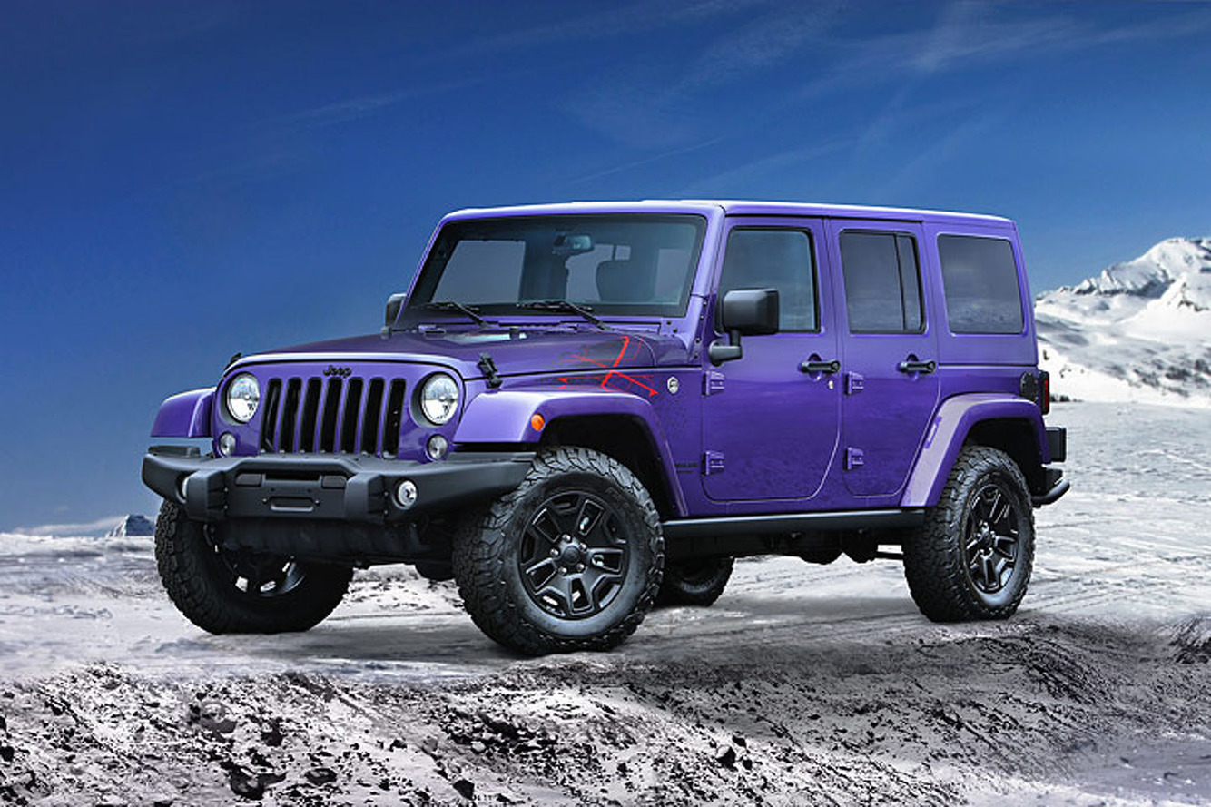 There's a New Jeep Wrangler in Town, and It's Xtremely Purple