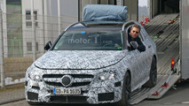 2017 Mercedes-AMG E63 Estate spotted being unloaded