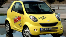 "Shuanghuan Noble: Chinese Smart Fortwo's Motto is ""Smarter Than The Rest"