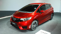 2015 Honda Jazz prototype at 2014 Paris Motor Show