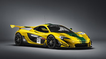 McLaren P1 GTR production version breaks cover
