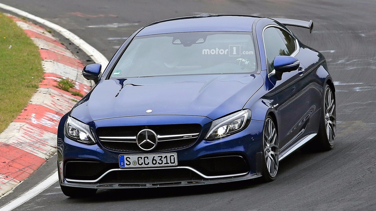 mercedes amg c63 r coupe spied for the first time. Black Bedroom Furniture Sets. Home Design Ideas