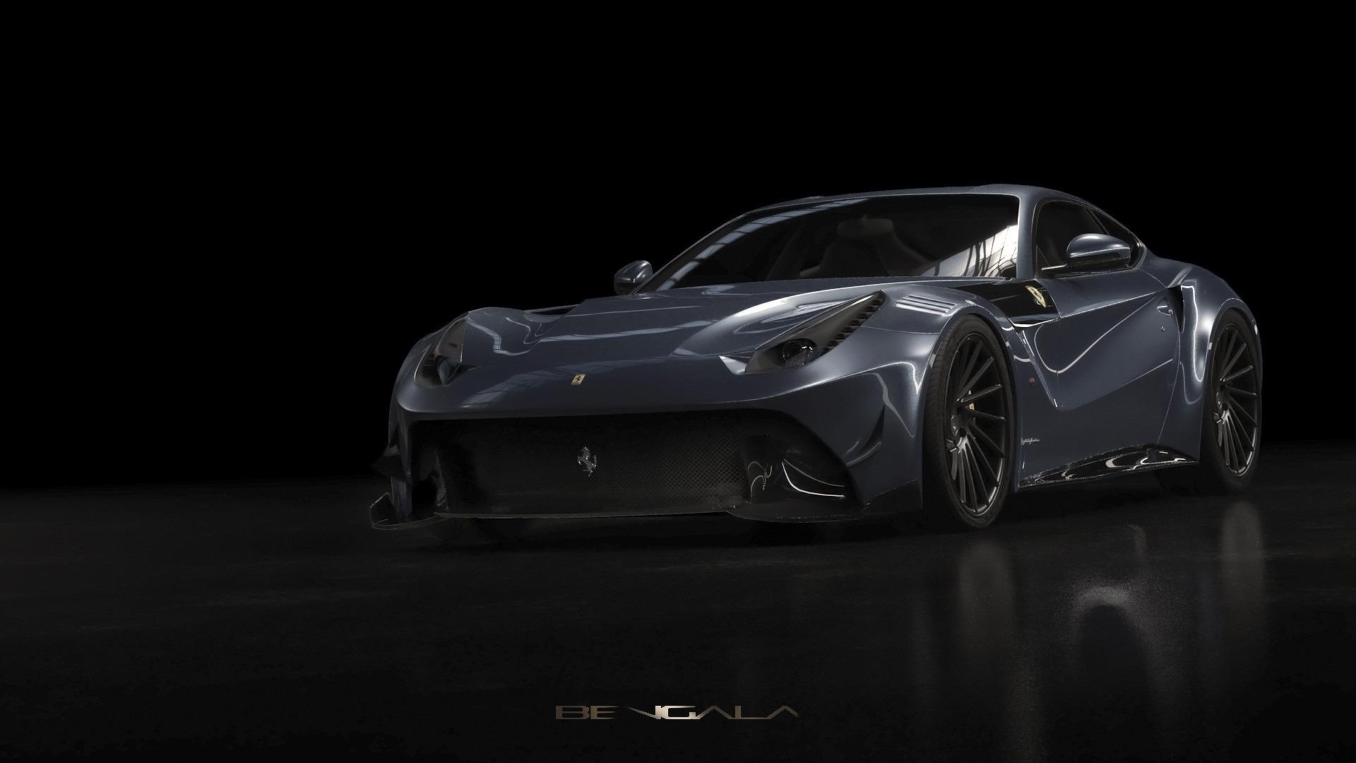 Bengala Ferrari F12 Caballeria is a carbon fiber fest