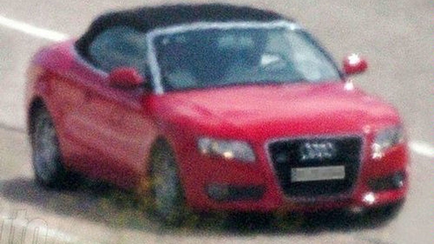 Audi A5 Cabrio Spotted for First Time