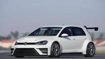 Volkswagen Golf race car