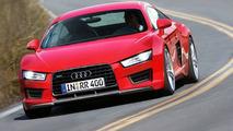 Audi R4 rendering