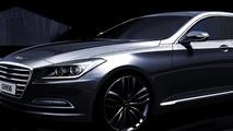 2014 Hyundai Genesis official render 24.10.2013