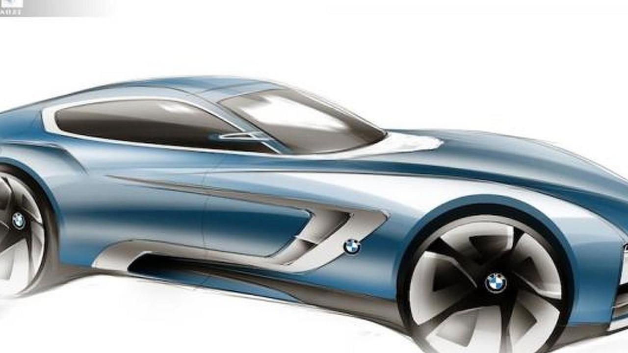 BMW Z5 speculative artist rendering 30.08.2013
