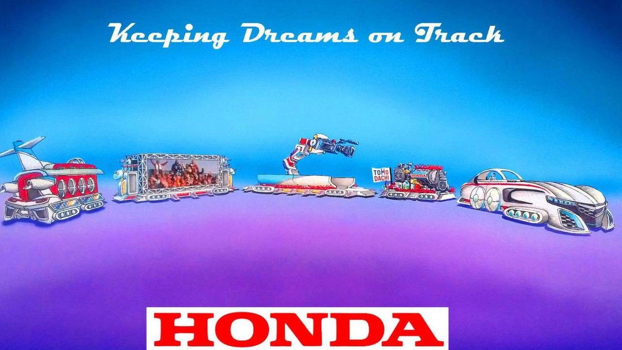 Honda Rose Bowl Parade float