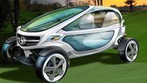 Mercedes-Benz envisions golf cart of the future