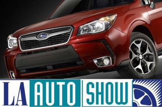 2014 Subaru Forester: Ready for the Los Angeles Auto Show