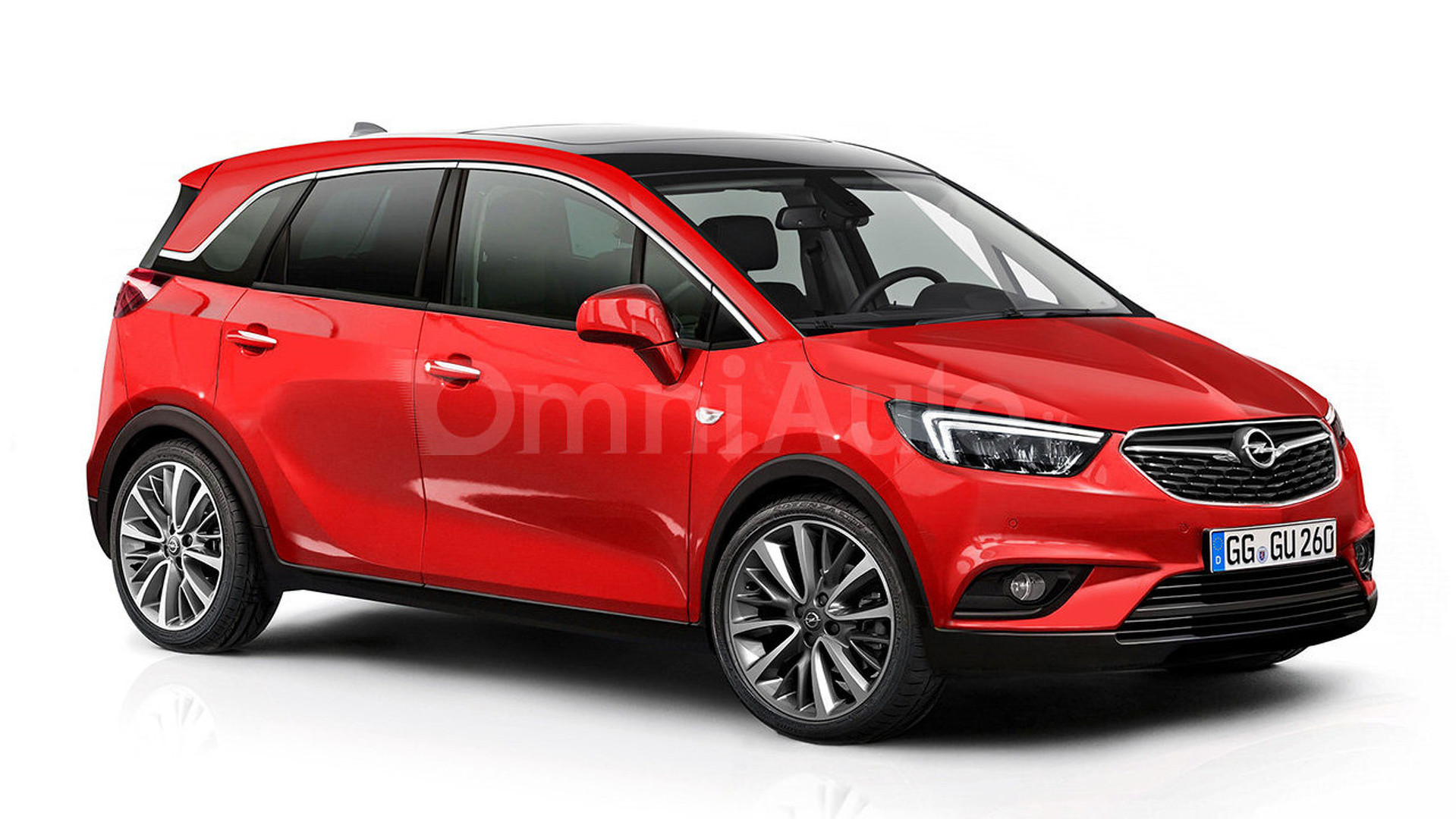 opel meriva rendered and spied showing interior. Black Bedroom Furniture Sets. Home Design Ideas