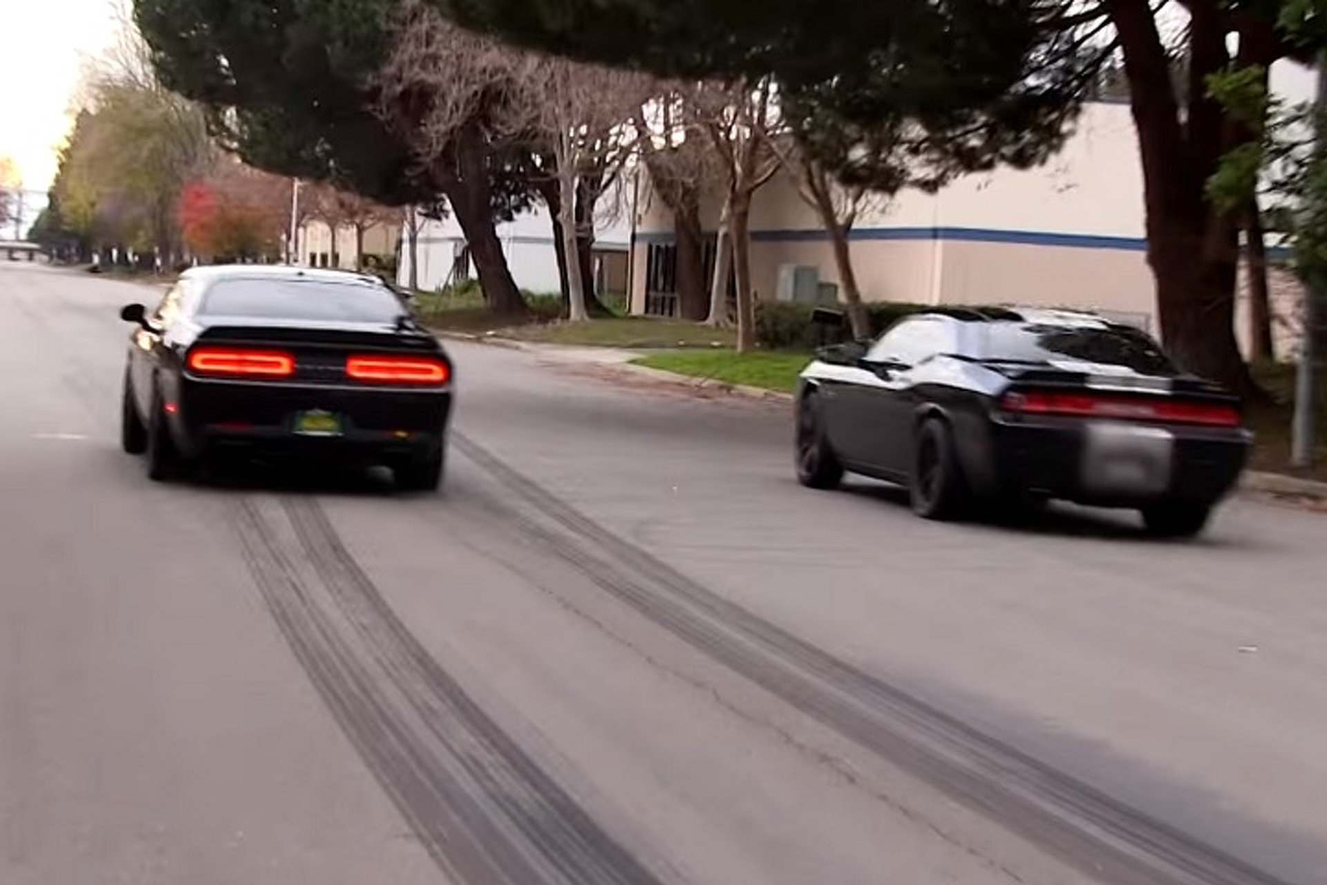 Who Will Win? Dodge Challenger Hellcat or Nitrous-Powered Challenger SRT8