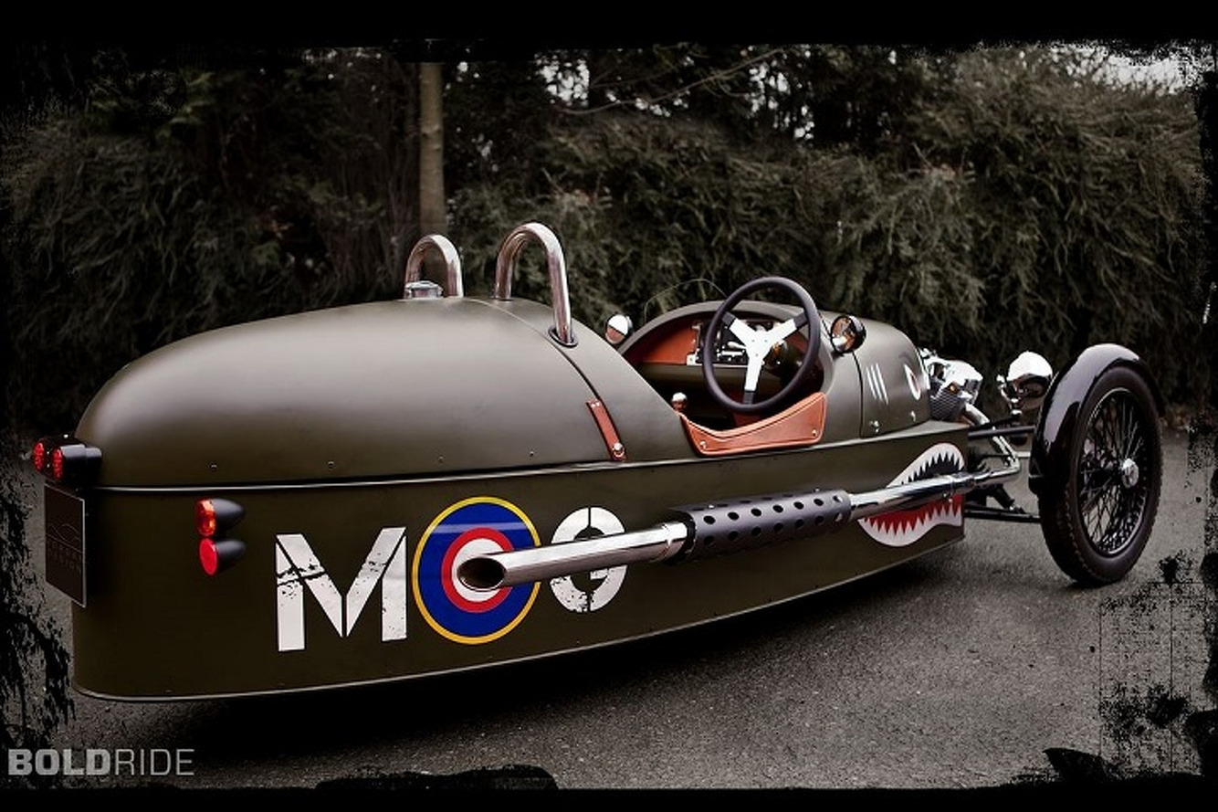 An Electric Morgan Threewheeler Might Actually Happen