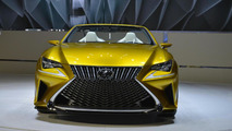 Lexus LF-C2 concept goes topless in L.A. [video]