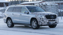 Mercedes-Benz GLS spied up close
