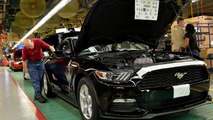 2015 Ford Mustang production