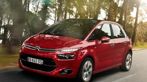 2014 Citroen C4 Picasso leaked photo 01.4.2013