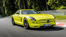Mercedes SLS AMG Electric Drive at the Nürburgring 06.6.2013