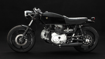 Buy this custom Ducati to match your tailored Armani suit