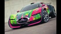 Citroen Survolt Art Car