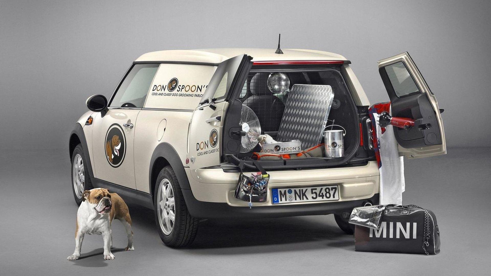MINI Clubvan production version revealed