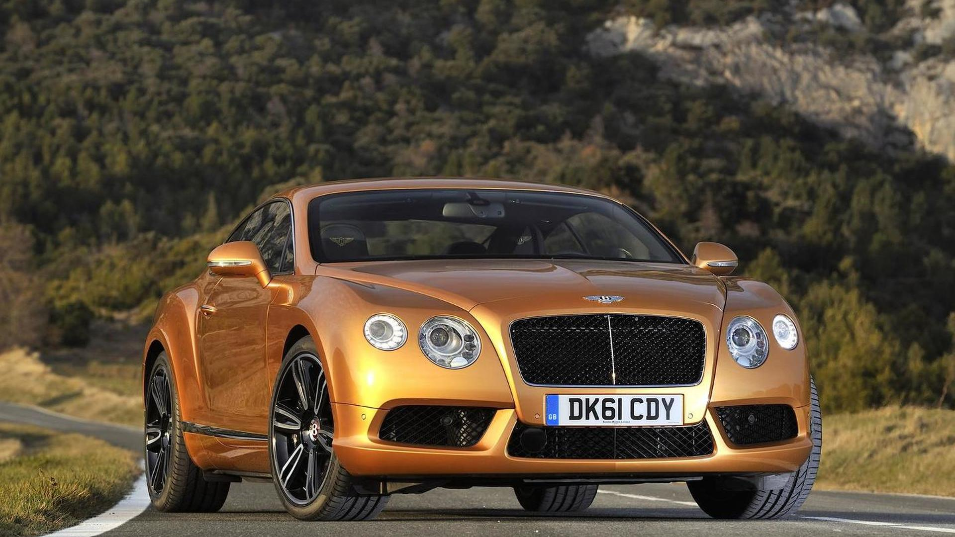 Bentley plotting four-door coupe